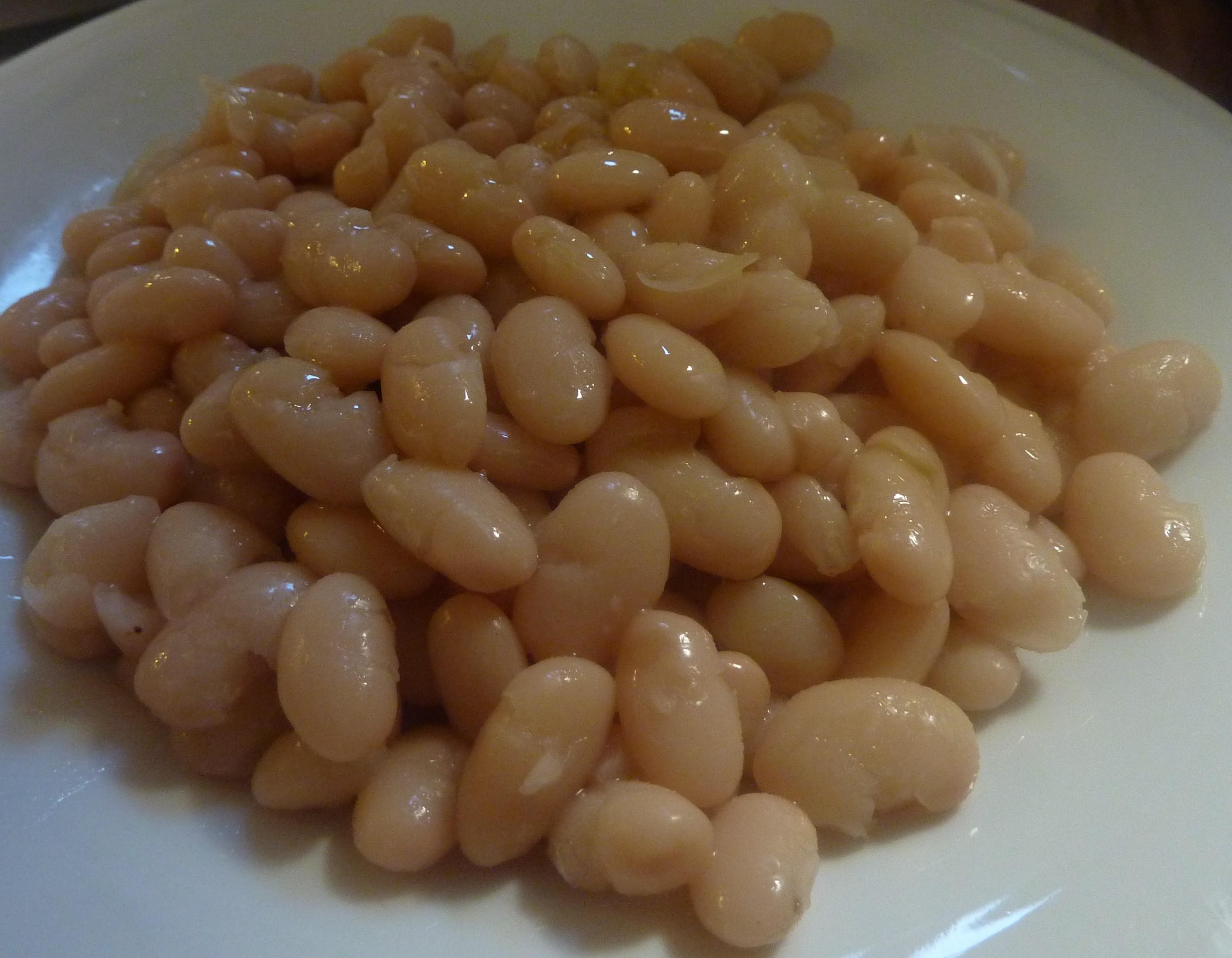 ricette con fagioli bianchi lessati